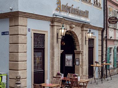 Bambergs erste Gasthaus-Brauerei: Das Ambräusianum