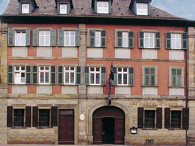 Die Brauerei Fässla in Bamberg