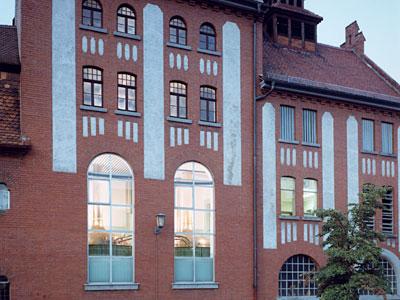 Das aus dem Jahr 1908 stammende Brauhaus der Mahr's-Bräu in Bamberg
